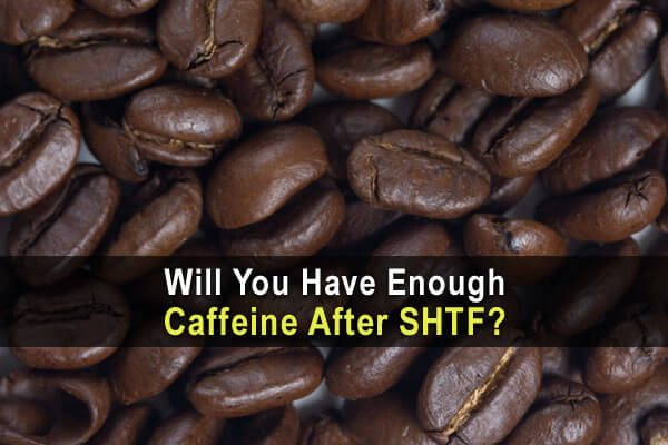 Will You Have Enough Caffeine After SHTF?